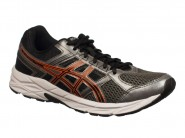 Tenis Asics Running Contend Chumbo Preto Orange CONTEND 4 A T026A