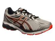 Tenis Asics Running Equation Cinza Laranja Preto EQUATION 9 A T022A