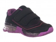 Tenis Bee Happy Running Preto Magenta FLASH LIGHT 3122