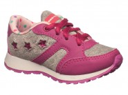 Tenis Bee Happy Running Cinza Magenta LEAP NICE 2695
