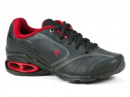 Tenis Bee Happy Running Preto Vermelho NEW WAVE 5366_I