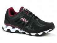 Tenis Black Free Running Preto-Vinho SPEED 5.300