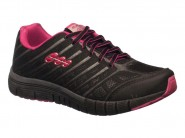 Tenis Black Free Running Preto Pink CONFORT 32.300