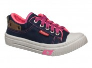 Tenis Botinho Marinho Pink 857GA