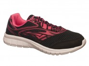 Tenis Bouts Running Preto Pink 7265