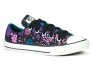 Tenis Converse All Star Azul Preto Violeta CT AS OX CK01290001