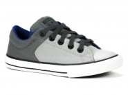 Tenis Converse All Star Skate Aluminio Ferro Marinho HIGH STR. CK01500001
