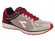 Tenis Diadora Running Prata Vermelho STRIKE II 125811