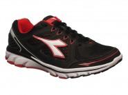 Tenis Diadora Running Preto Vermelho POWER 125502