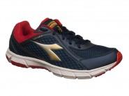 Tenis Diadora Running Marinho Vermelho EASY RUN II 125507