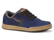 Tenis Ferma Skate Azul Marrom F194