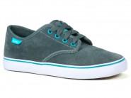 Tenis Freeday Skate Grafite-Verde Agua FOR STAR 90205