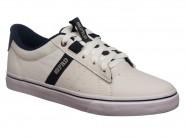 Tenis Freeday Skate Branco Marinho NEW ID VULC 31301