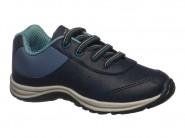 Tenis Kidy Running Marinho Azul Jeans  FLEX 164-0209