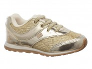 Tenis Kidy Running Ouro FREE 096-1087
