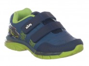 Tenis Kidy Running Azul Verde FLEX LIGHT 020.0036