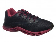 Tenis Kidy Running Marinho Preto Grape HOOX 129-1124