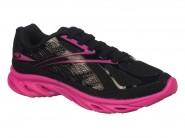 Tenis Klin Running Preto Pink JET KIDS 174.008000