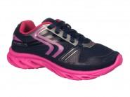 Tenis Klin Running Marinho Pink 174.011000