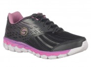 Tenis Lynd Running Preto Pink PRISMA 382