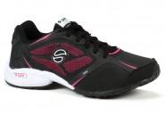 Tenis Lynd Running Preto Branco Pink SLICE 2 342
