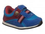 Tenis Meli Baby Azul Vermelho 706