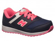 Tenis Mini-Pé Running Marinho Pink MP2751