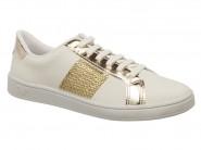 Tenis Mississipi Sport Chic Trusho Branco Ouro X6022