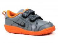 Tenis Nike Cinza Laranja PICO LT 619042