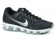 Tenis Nike Running Preto Branco AIR MAX TAIL. 683632