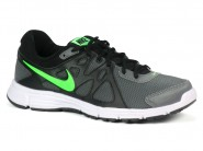Tenis Nike Running Chumbo Preto Limao REVOLUTION 554954