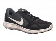 Tenis Nike Running Preto Chumbo REVOLUTION 3 819413