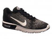 Tenis Nike Running Air Max Sequent 2 Preto Branco Cinza AIR MAX 852461