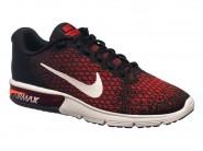 Tenis Nike Running Air Max Sequent 2 Preto Vermelho AIR MAX 852461