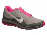 Tenis Nike Running Dinasty Cinza Rosa Branco AIR MAX 852445