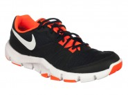 Tenis Nike Running Preto Laranja FLEX SHOW 807183