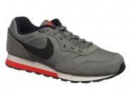 Tenis Nike Running Estilo Retro Cinza Laranja MD RUNNER 2 807316