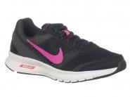 Tenis Nike Running Preto Chumbo Rosa AIR RELENTLES 807099