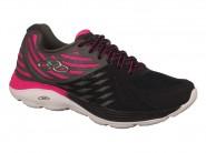 Tenis Olympikus Running Preto Pink FLIX 2 219