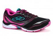 Tenis Olympikus Running Preto-Pink CIRCUIT 3 101
