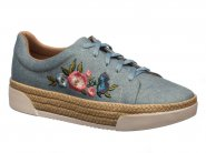 Tenis Piccadilly Flatform Jeans 978002
