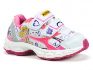 Tenis Play Baby Running Branco Pink 135