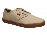 Tenis Qix Skate Bege Natural NB ROOTS 107382
