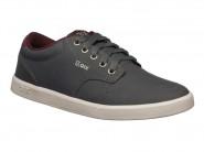Tenis Qix Skate Cinza Cereja BASE 105731