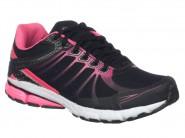 Tenis Rekoba Running Preto Pink EVAX 3 SUMER 010501A