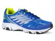 Tenis Rekoba Running Azul Royal Verde EVAX2 DRANCY 013106A