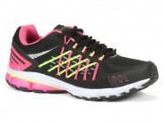 Tenis Rekoba Running Preto Pink EVAX3 WINTER 010503A