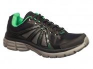 Tenis Rekoba Running Cinza Verde EVAX 4 R1351