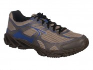 Tenis Tryon Running Grafite Cinza Azul POWER