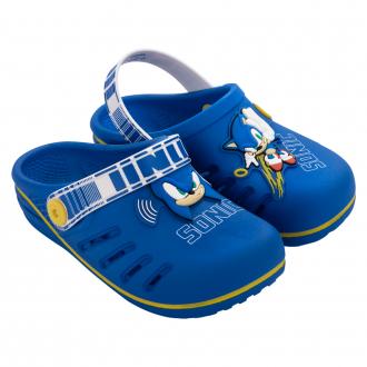 Imagem - Babuche Grendene Kids Infantil Sonic Speed Azul